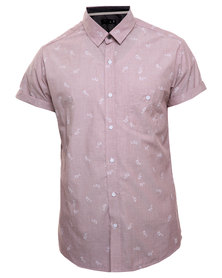 St Goliath Govern S/S Shirt Pink