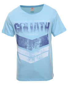 St Goliath Privateer Tee Blue