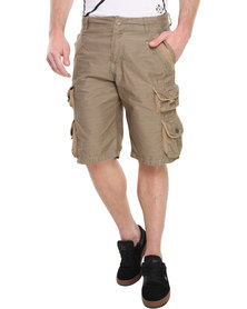 St Goliath Marlined Cargo Shorts Beige