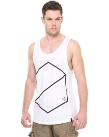 St Goliath Squeezy Tank Top White