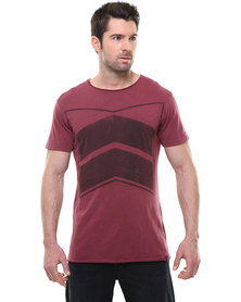 St Goliath Theme Tee Burgundy