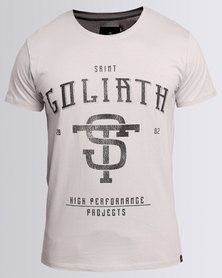 St. Goliath Perform Tee Light Grey