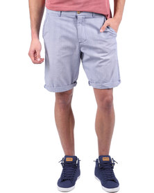 St Goliath Line Up Shorts Blue