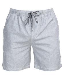 St Goliath Dow Pull On Shorts Grey