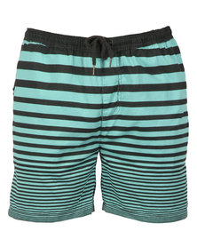 St Goliath Sabath Striped Pull-On Shorts Mint