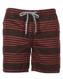 St Goliath Zappos Pull-On Shorts Red Black