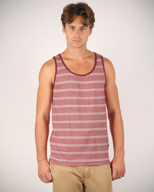 St Goliath Upfront Tank Top Red