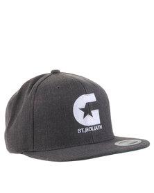 St Goliath International Snapback Cap Grey