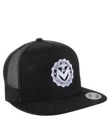 St Goliath Logo O2 Trucker Cap Dark Grey