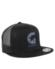 St Goliath International Trucker Cap Dark Grey