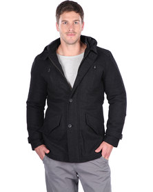 St Goliath Billet Jacket Black