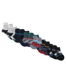 Stance Six Pack Baby Boy Socks Multi