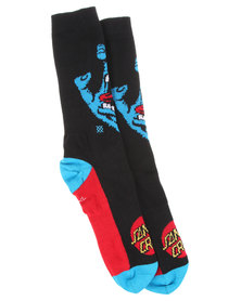 Stance Foundation Screaming Hand Socks Black