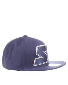 Starter Star Snap Back Cap Navy