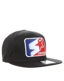 Starter League Snap Back Cap Black