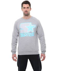 Starter Fulfill Crew Sweater Grey