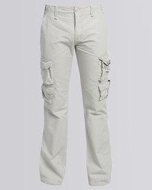 Stephen Premium Cargo Pants Stone