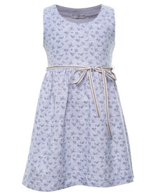 Sticky Fudge Claire Dress Blue