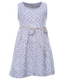 Sticky Fudge Claire Dress Blue