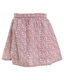 Sticky Fudge Lara Skirt Pink