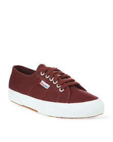 Superga 2750 Cotum Classic Canvas Sneakers Bordeaux