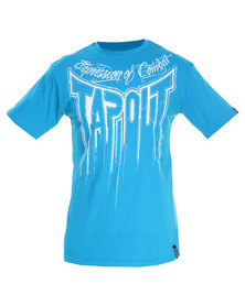 Tapout Decay Tee Turquoise