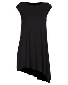 Tart Graduated Dress Black
