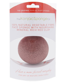 Konjac French Red Clay Sponge