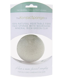 French Green Clay Sponge