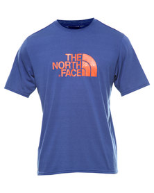 The North Face Reaxion Graphic Crew S/S Tee Blue