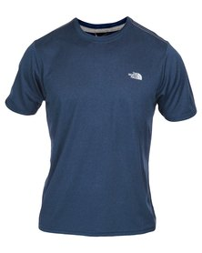 The North Face Reaxion Amp Crew T-Shirt Blue