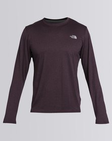 The North Face Reaxion Amp Crew T-Shirt Purple