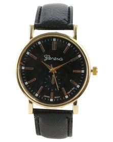 The Ramp Geneva Classic Watch Black