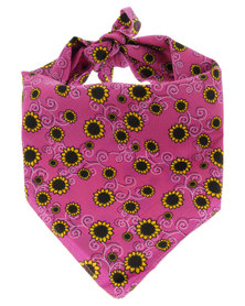 The Sunflower Bandana Pink