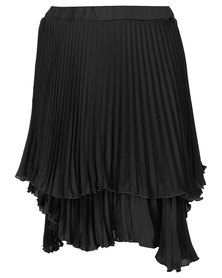 theHive Whimsical Layered Pleated Skirt