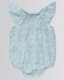Tic Tac Toe Amelie Bubble Butterfly Sweet Blue