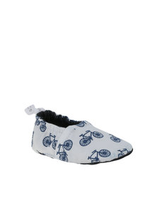 Tic Tac Toe Loafer Shoes Bicycles Navy