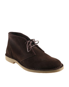 Timberland Brasstown Chukka Lace Up Boots Dark Brown