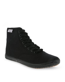 Tomy Original Hi Top Canvas Sneakers Black