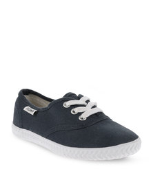 Tomy Children's Original Canvas Sneakers Navy