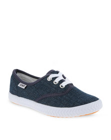 Tomy Childrens Original Canvas Sneakers Blue