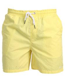 Tomy Pool Shorts Yellow
