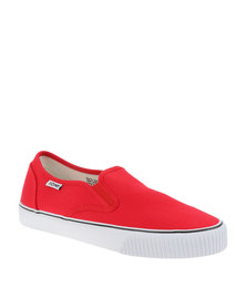 Tomy Takkies Mens Classic Slip On Red