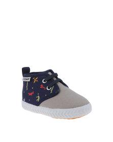 Tomy Kids Original Origanum Sneakers Grey and Navy