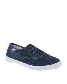 Tomy Takkies Original Laceless Sneakers Indigo