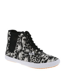 Tomy Original HT Chelsea Sneaker Black and White