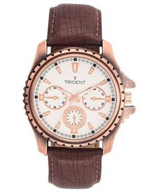 Trident Quito Mens Watch Brown