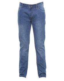 Triple Five Soul Rawson Jean 5-Pocket Blue