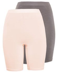 Triumph Shapewear Seamless Long Leg 2 Pack Multi