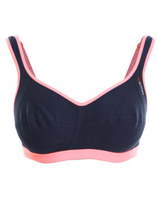 Triumph Performance Tri Action Active N Bra Navy